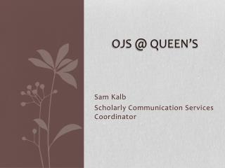 OJS @ Queen's