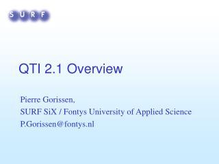 QTI 2.1 Overview
