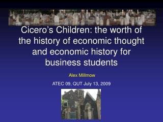 ATEC 09, QUT July 13, 2009
