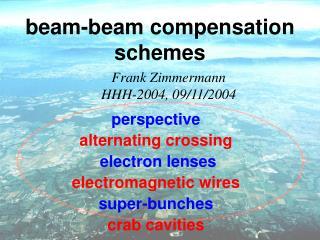 beam-beam compensation schemes