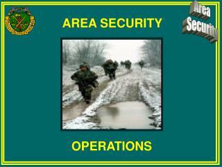 AREA SECURITY