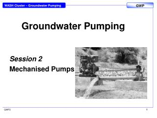 Groundwater Pumping