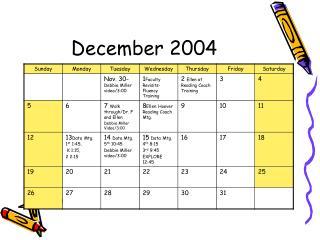 December 2004