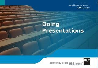 Doing Presentations