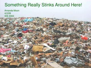 Something Really Stinks Around Here!