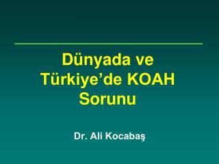 Dünyada ve Türkiye'de KOAH Sorunu