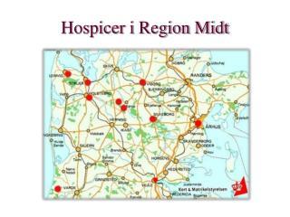 Hospicer i  Region Midt