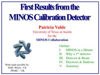 First Results from the MINOS Calibration Detector