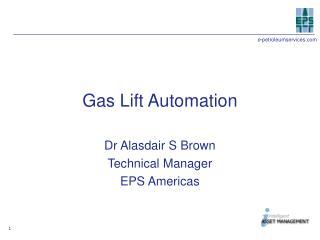 Gas Lift Automation