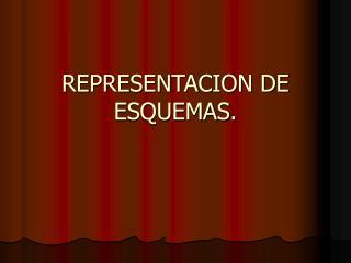 REPRESENTACION DE ESQUEMAS.