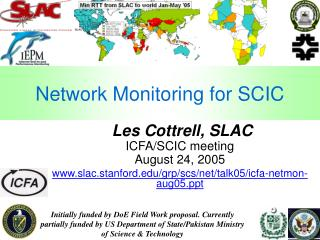 Network Monitoring for SCIC