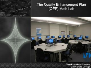 The Quality Enhancement Plan  (QEP) Math Lab