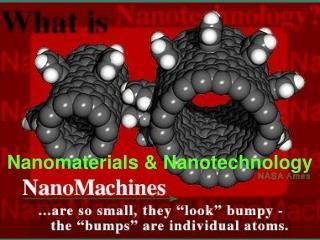 Nanomaterials & Nanotechnology