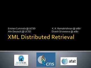 XML Distributed Retrieval