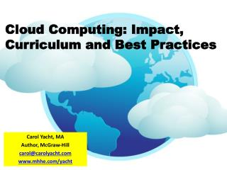 Cloud Computing: Impact, Curriculum and Best Practices