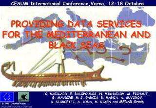 PROVIDING DATA SERVICES FOR THE MEDITERRANEAN AND BLACK SEAS