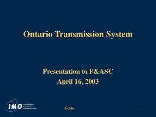 Ontario Transmission System