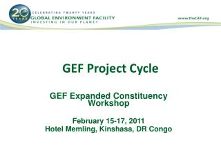 GEF Project Cycle