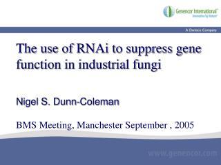 RNAi pathway in  N. crassa