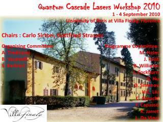 Quantum Cascade Lasers Workshop 2010