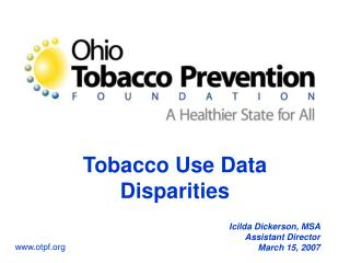 Tobacco Use Data Disparities