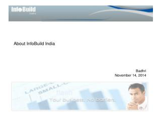 About InfoBuild India