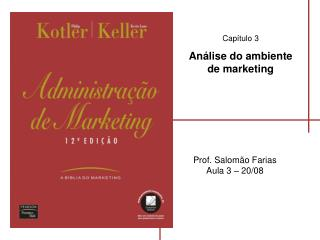 Capítulo 3 Análise do ambiente de marketing