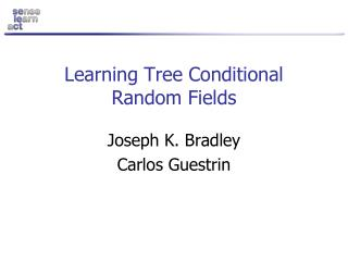 Learning Tree Conditional Random Fields