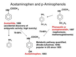 Acetaminophen and p-Aminophenols