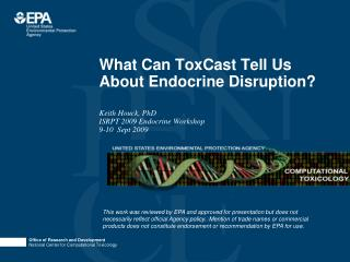 What Can ToxCast Tell Us About Endocrine Disruption?