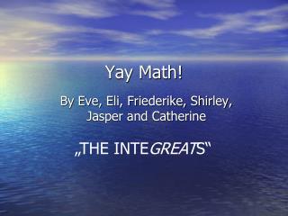 Yay Math!