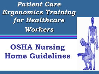 Patient Care Ergonomics Training for Healthcare Workers