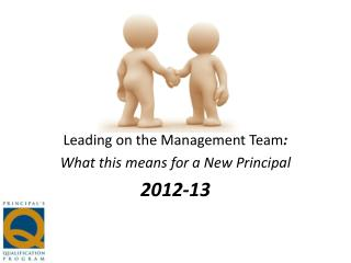 Leading on the Management Team : What this means for a New Principal 2012-13