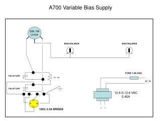 A700 Variable Bias Supply