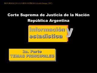 Corte Suprema de Justicia de la Nación