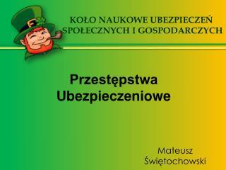 Mateusz Świętochowski