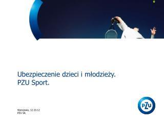 Ubezpieczenie dzieci i młodzieży. PZU Sport.