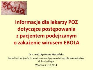 Dr n. med. Agnieszka Muszyńska