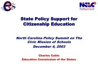 State Policy Support for Citizenship Education