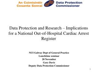 Data Protection and Research