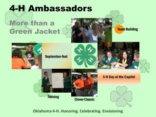 4-H Ambassadors