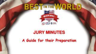 JURY MINUTES