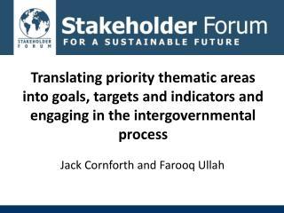 Jack Cornforth and Farooq Ullah