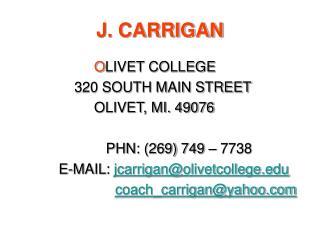 J. CARRIGAN