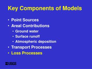 Key Components of Models