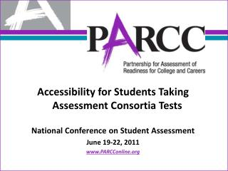Accessibility for Students Taking Assessment Consortia Tests