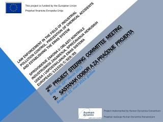 This project is funded by the European  Union Projekat finansira Evropska Unija