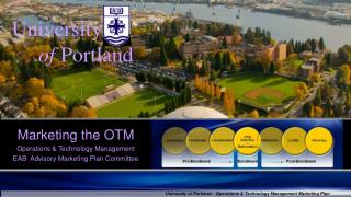 University of Portland – Operations & Technology Management Marketing Plan
