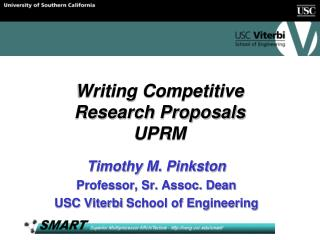 Writing Competitive Research Proposals UPRM