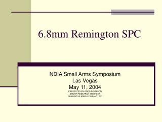 6.8mm Remington SPC